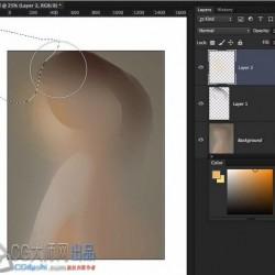 性感女性角色肖像绘画视频教程 - How to Start Portrait Painting By Irakli Nadar