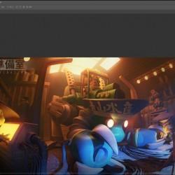 疯景 Blender 3d辅助(卡通绘画教程 三维辅助模型)